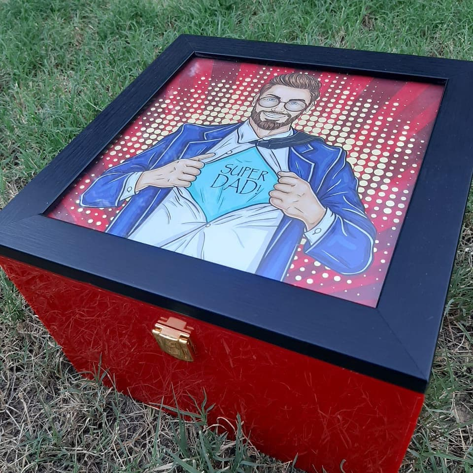 Father's Day Acrylic Box | Tezz